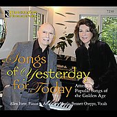 Martha Bennett Oneppo: Songs of Yesterday for Today, American popular Songs of the Golden Age