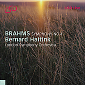 Brahms: Symphony no 4 / Haitink, London SO