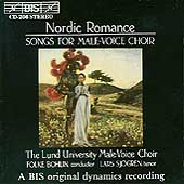 Nordic Romance - Songs for Male-Voice Choir / Bohlin, Lund