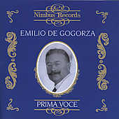 Prima Voce - Emilio de Gogorza