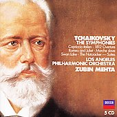 Tchaikovsky: The Symphonies, etc / Mehta, LAPO