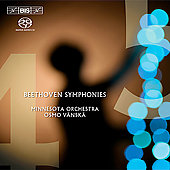 Beethoven: Symphonies no 4 & 5 / V&#228;nsk&#228;, Minnesota Orchestra
