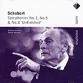 Schubert: Symphonies Nos. 3, 5 & 8 'Unfinished'