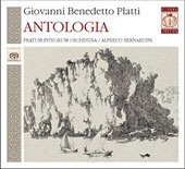 Antologia - Giovannni Benedetto Platti: Concertos, etc / Alfredo Bernardini, Pratum Integrum Orchestra