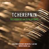 Tcherepnin: Complete Symphonies & Piano Concertos / Ogawa, Shui, Singapore SO