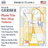 American Classics - Gerber: Gershwiniana, Notturno, Piano Trio / Bue