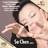 Rachmaninov: Etudes Tableaux;  Mussorgsky: Pictures at an Exhibition / Sa Chen