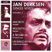 Jan Derksen Sings Verdi Vol 2