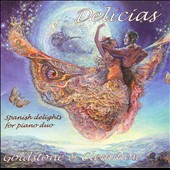 Delicias: Spanish Delights for Piano Duo / Chabrier, Granados, Rodrigo, Chaminade
