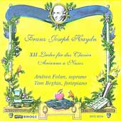 Haydn: XII Lieder, Arianna a Naxos / Folan, Beghin