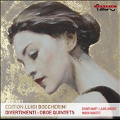 Boccherini: Divertimenti; Oboe Quintets / Parisii Quartet