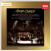 Verdi: Don Carlo [Highlights] / Carreras, Freni, Ghiarov, Baltsa, Raimondi