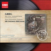Grieg: Peer Gynt & Orchestral Works / Sir Thomas Beecham