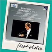 Beethoven: Symphony No. 9 'Choral';  Choral Fantasy / Orgonasova, von Otter, Rolfe Johnson, Cachemaille - Gardiner