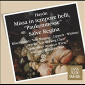 Haydn: Missa in Tempore Belli; Salve Regina /  Dorothea Roschmann, Herbert Lippert, Elisabeth von Magnus, Oliver Widmer