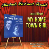 Louis Hirsch: My Hometown Girl