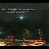 Rich Thompson (Drums): Less Is More [Digipak]