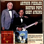 Chet Atkins/Arthur Fiedler (Conductor)/Boston Pops Orchestra: The Pops Goes Country/The Pops Goes West