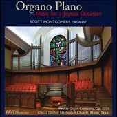 Organo Plano - Works by Susa; Guilain; Bach; Bruhns; Gigout; Karg-Elert; Shearing; Sowerby et al. / Scott Montgomery, organ