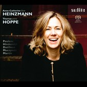 Anne-Catherine Heinzmann plays Poulenc, Hindemith, Dutilleux, Muczynski, Martin