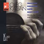 Kagan Edition Vol 13 - Prokofiev, Schumann, Ravel, et al