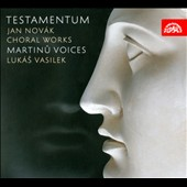 Choral Works of Jan Novak: Testamentum; Fugae Vergilianae; Invitatio Pastorum; Exercitia Mythologica / Marinu Voices, Vasilek