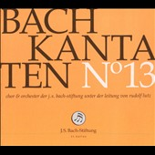 Bach: Cantatas Vol. 13 - BWV 13, 20 & 103 / J.S. Bach Foundation Choir & Orchestra; Rudolf Lutz