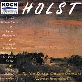 Holst: Brook Green Suite, Lyric Movement, etc / Braithwaite