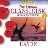 Vienna Classicism in Slow Movements Vol 1 - Haydn