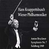 Bruckner: Symphony no 7 / Hans Knappertsbusch, Vienna PO