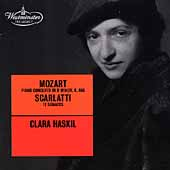 Westminster - Mozart, Scarlatti / Clara Haskil