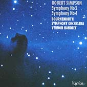 Simpson: Symphony no 2, Symphony no 4 / Vernon Handley