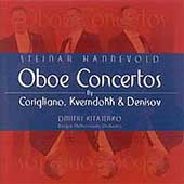 Corigliano, Denisov, Kverndokk: Oboe Concertos / Hannevold
