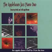 The Applebaum Jazz Piano Duo: The Apple Doesn't Fall Far From the Tree