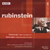 Tchaikovsky, Schumann: Piano Concertos / Rubinstein, et al