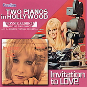 Ronnie Aldrich: Two Pianos in Hollywood/Invitation to Love