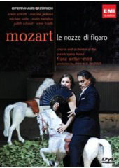 Mozart: The Marriage of Figaro / Welser-Most/Zurich Opera, Jankova, Hartelius, Schrott [DVD]