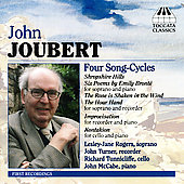 Joubert: Song-Cycles & Chamber Works / Rogers, McCabe, et al