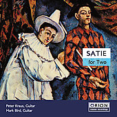 Satie for Two / Kraus, Bird