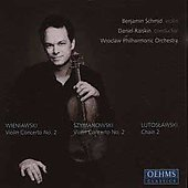 Wieniawski: Violin Concerto no 2;  et al / Schmid, Raiskin, Wroclaw PO