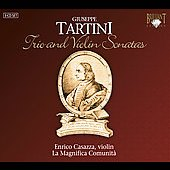 Tartini: Trio & Violin Sonatas / Casazza, La Magnifica Comunita