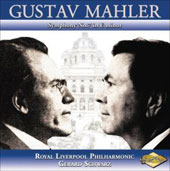 Mahler: Symphony no 7 in E minor / Gerard Schwarz, Royal Liverpool PO