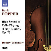 Popper: High School for Cello Playing, Op. 73 / Dmitry Yablonksky