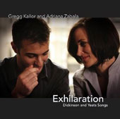 Gregg Kallor - Exhilaration: Dickinson and Yeats Songs / Adrana Zabala, mezzo-soprano