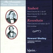 The Romantic Piano Concerto Vol. 51: Taubert, Rosenhain