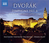 Dvor&aacute;k: Symphony No. 6; Scherzo Capriccioso / Alsop