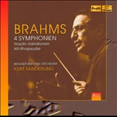 Brahms: The 4 Symphonies; Haydn Vars.; Alto Rhapsody / Annette Markert, also; Kurt Sanderling