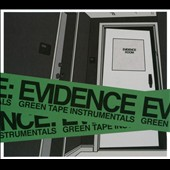 Evidence (Dilated Peoples): Green Tape Instrumentals [Digipak] *