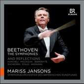 Beethoven: The Symphonies 1 - 9 and Reflections by Staud, Shchedrin, Kancheli and others / Jansons