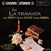 Verdi: La Traviata / Previtali, Moffo, Tucker, Merrill, etc
